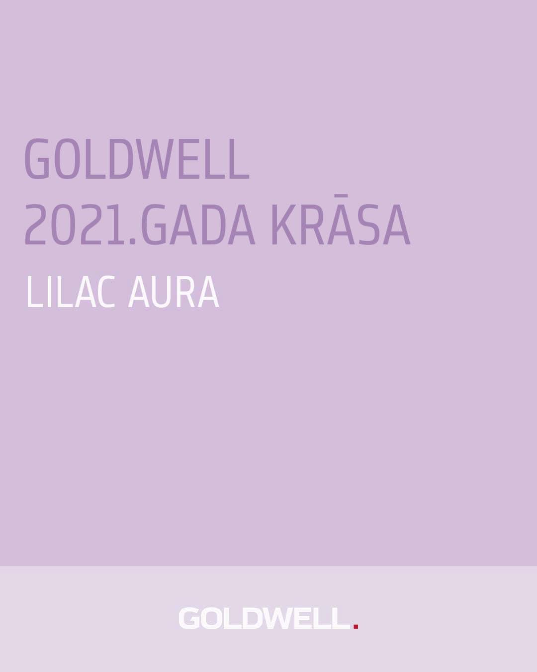 2021. GADA KRĀSA: LILAC AURA